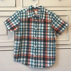 Gymboree Other - Boys Short-Sleeve Button Down Shirt