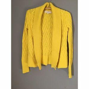 Ann Taylor Sweaters - LOFT Citron Sweater Sz XS