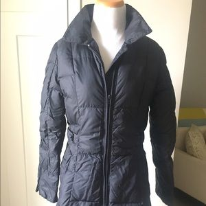 Add Down Jackets & Blazers - Add down 3/4 length down jacket black size 4