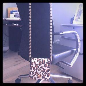 Tory Burch Handbags - Tory Burch leopard crossbody handbag!