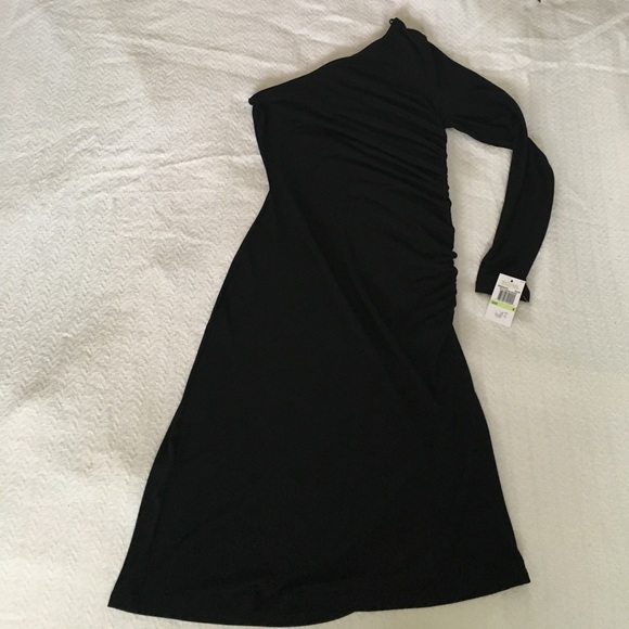 MICHAEL Michael Kors Dresses & Skirts - Michael Kors one sleeve dress black