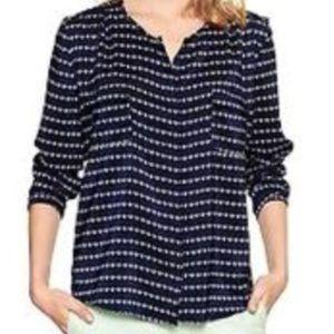 Gap blouse navy