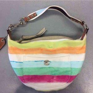 COACH - Pastel watercolor purse