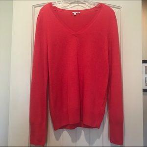 Hot pink Halogen cashmere sweater