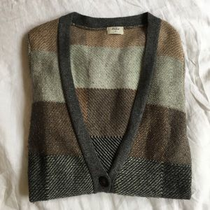 Madewell patchwork sweater S
