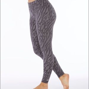 Marika Embossed Animal Print Leggings Yoga Pants