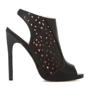 Shoe Dazzle Shoes - • Caged Booties •