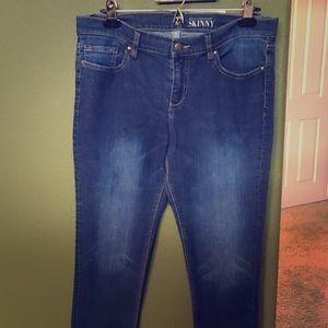 NY&C Denim - NY&C Skinny Jeans - Size 12P