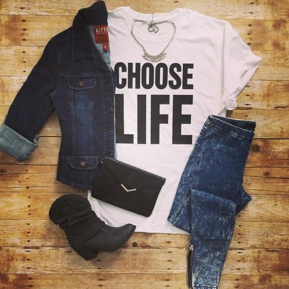 d165478a Tops | Choose Life George Michael Wham 80s Retro Tshirt | Poshmark