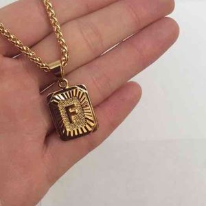 "Other - New 18k gold "" F "" necklace"