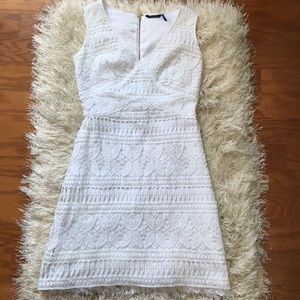 Guess by Marciano Dresses & Skirts - Crochet Fringe Dress
