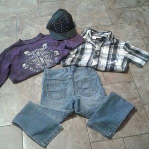 Other - Boys outfit size 8.. Purple
