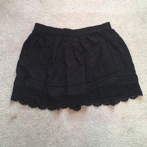 Aeropostale Dresses & Skirts - WORN ONCE BLACK SKIRT