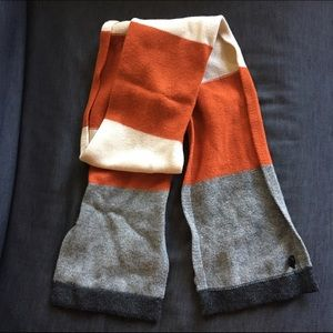 Express Other - Men's Wool Colorblock Scarf