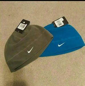 Nike Other - NWT! Set of 2 Nike Beanie Fleece Hats!