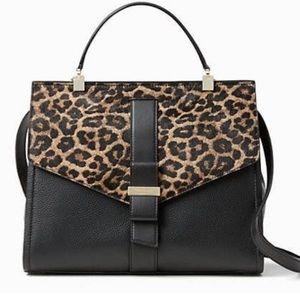 kate spade Handbags - NWT Kate Spade Calf Hair Satchel Handbag