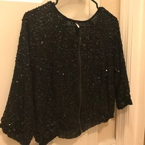 Urban Outfitters Sequin Jacket