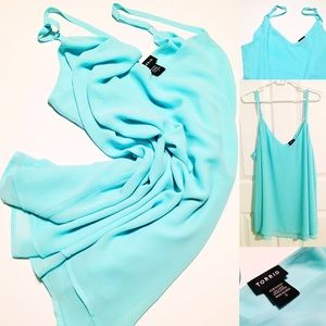 Double Layer Chiffon Cami