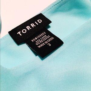 torrid Tops - NWOT Double Layer Chiffon Cami
