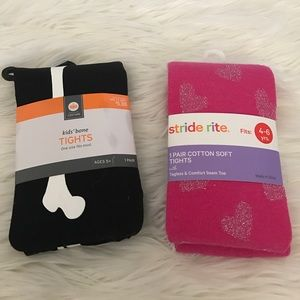 Other - Set of 2 Girl's Tights