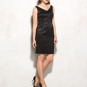 Carmen Marc Valvo Dresses & Skirts - Luxe carmen Marc Valvo black cocktail dress new