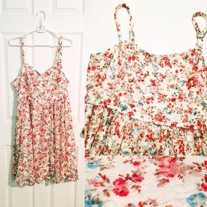 Floral Lace Sundress