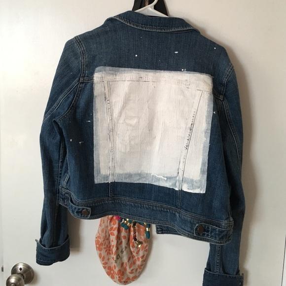 American Eagle Outfitters Jackets Coats Artsy Jean Jacket Poshmark