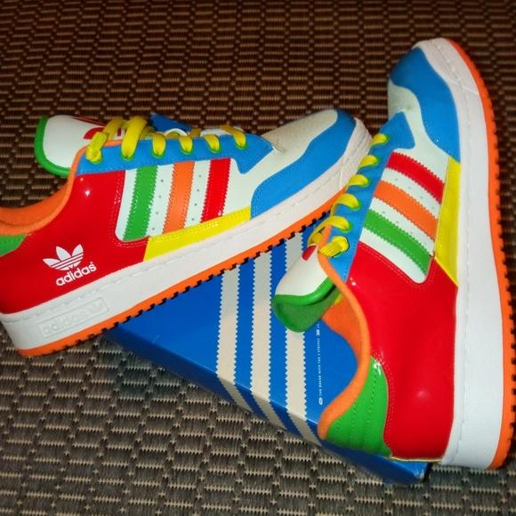 d68dddd6f4465 Adidas Other - 🎉🍾Fruity pebble adidas men size 10.5🍾🎉