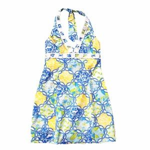 Lilly Pulitzer Dresses & Skirts - Lily Pulitzer lemon and monkey halter dress