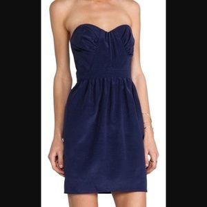 Shoshanna Dresses & Skirts - Shoshanna navy strapless dress size 8 nwt!