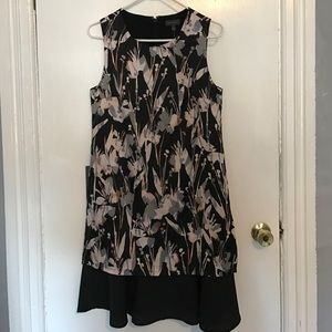 The Limited Sleeveless Floral Dress
