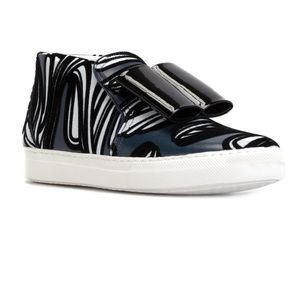 Pierre Hardy Shoes - Pierre Hardy Bow Detailed Printed Sneakers sz 37