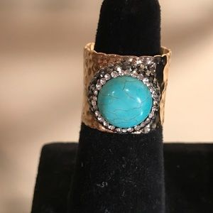 Jewelry - Gold plated adjustable ring