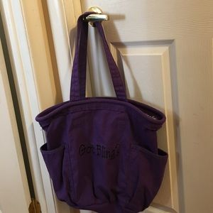 thirty one  Handbags - Purple tote from thirty one
