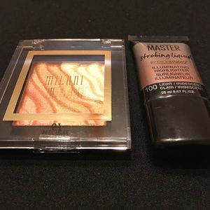 Maybelline Other - Highlight Combo Powder & Liquid Light New.