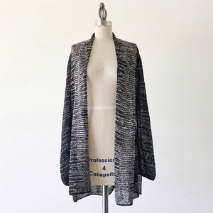 EILEEN FISHER | Linen Open Knit Cardigan