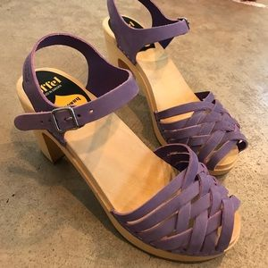 Lilac Swedish Hasbeens LIKE NEW 39