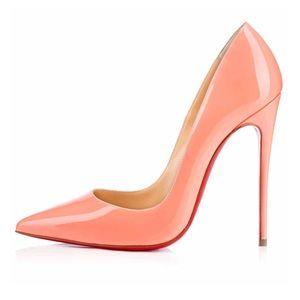 Christian Louboutin Shoes - Christian Louboutin So Kate Patent 120mm Flamingo