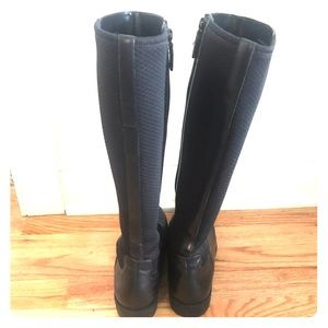 Cole Haan Tall Black Boots 7.5