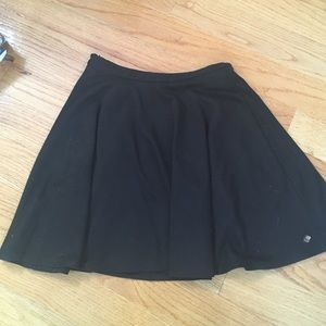 Black skirt flowy