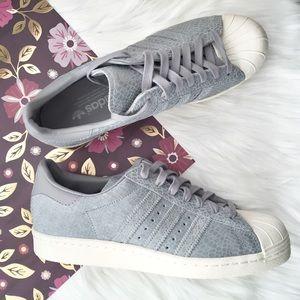 Adidas Shoes - ( NEW ) Adidas Originals Superstar 80s Suede