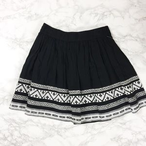 NWT Two by Vince Camuto Black Skirt