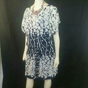 SL Fashions Dresses & Skirts - SL Fashion Blouson All -Over Floral Dress
