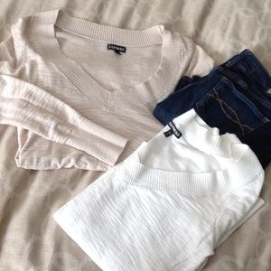 Express 2 sweater bundle