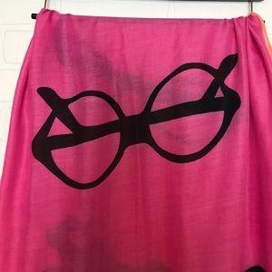 Target Accessories - Eyeglasses print scarf pink orange super cute!