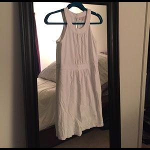 LOFT White Cotton Dress