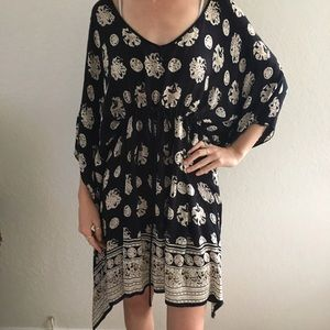 Urban Outfitters printed  caftan dress