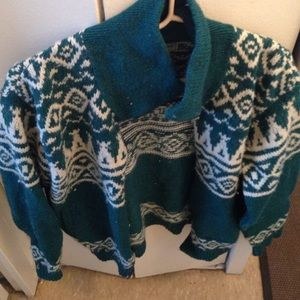 Awesome L.L. Bean sweater zip up