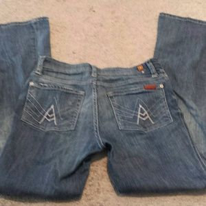 7 For All Mankind Other - Girls 7 For all mankind jeans 14 bootleg