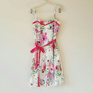 Lipstick Boutique Dresses & Skirts - Floral Strappy Dress